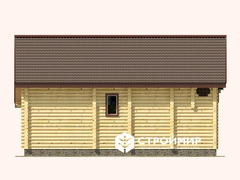 Дом 9х11 из бревна ДБР-15