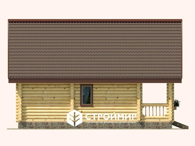 Дом Терем из бревна 7х9