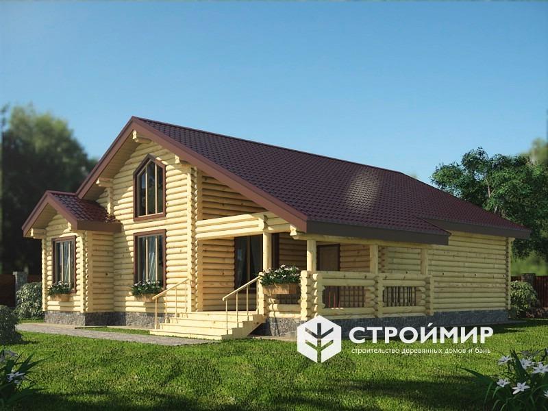 Дом 12х13 из бревна ДБР-29