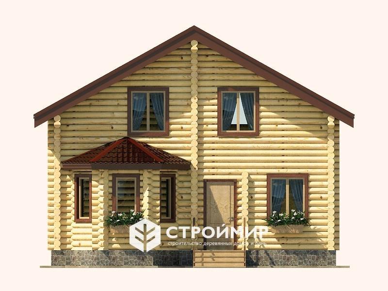 Дом 7х8 из бревна ДБР-21