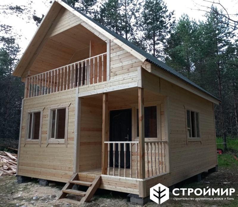 каркасный дом фото