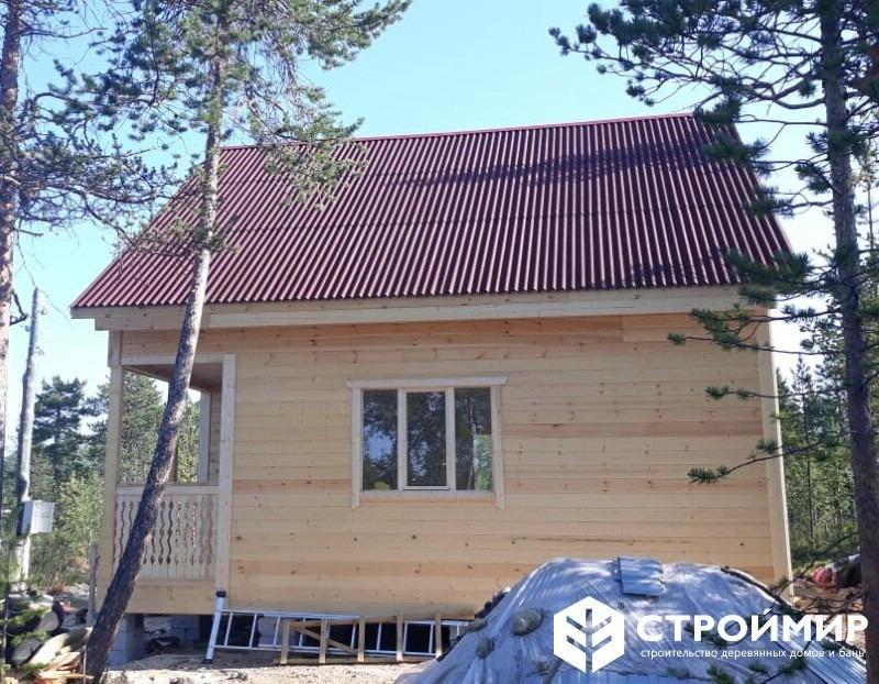 Каркасный дом в Мурманской области