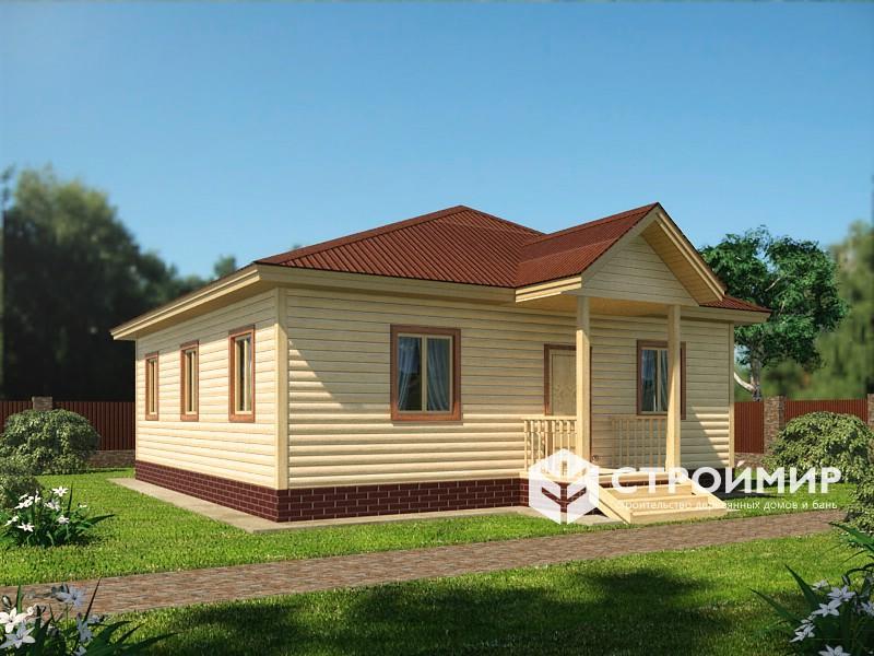 Проект дома 9х14,5 (Д-108)