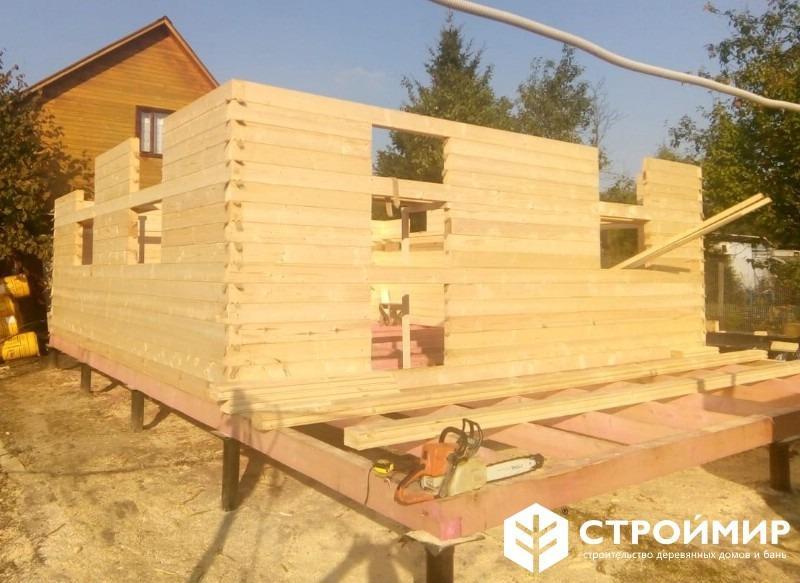 Строительство дома в Царёво
