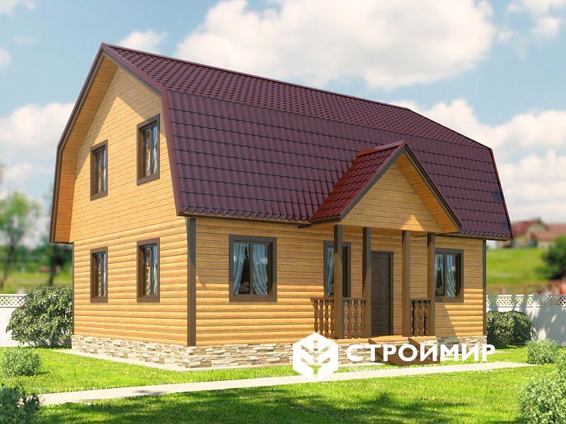 проект брусового дома