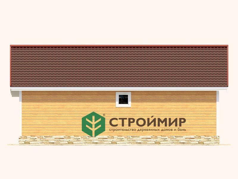 Каркасный дом 9,5х10,5, проект К-2