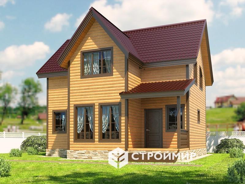 Проект дома 8х8,5 (Д-117)