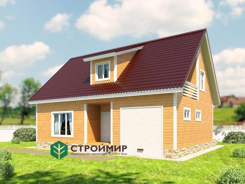 Каркасный дом проект К-65