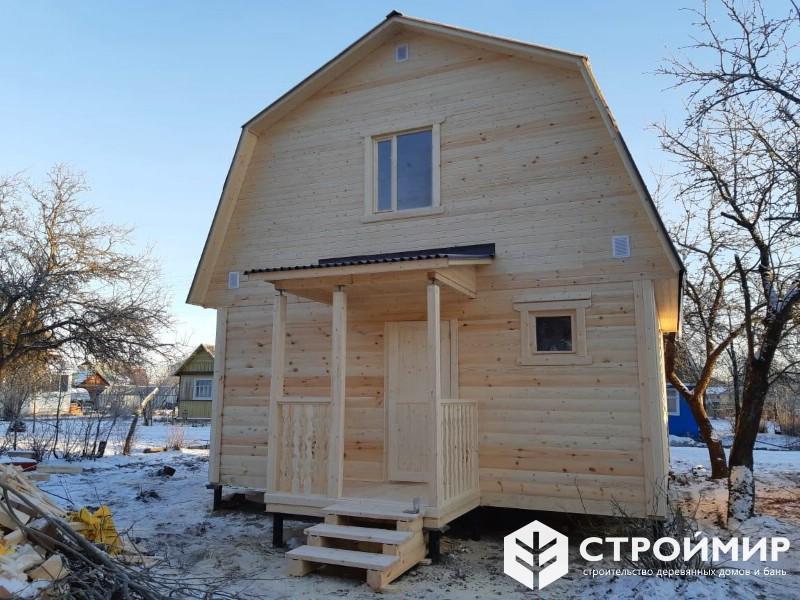 Дом 6х6 из бруса для отдыха