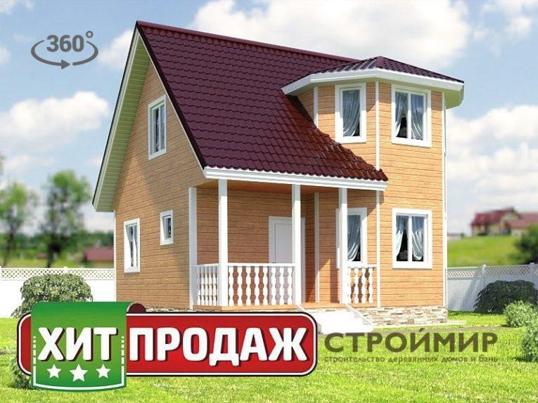 Каркасный дом 7х7, проект К-29