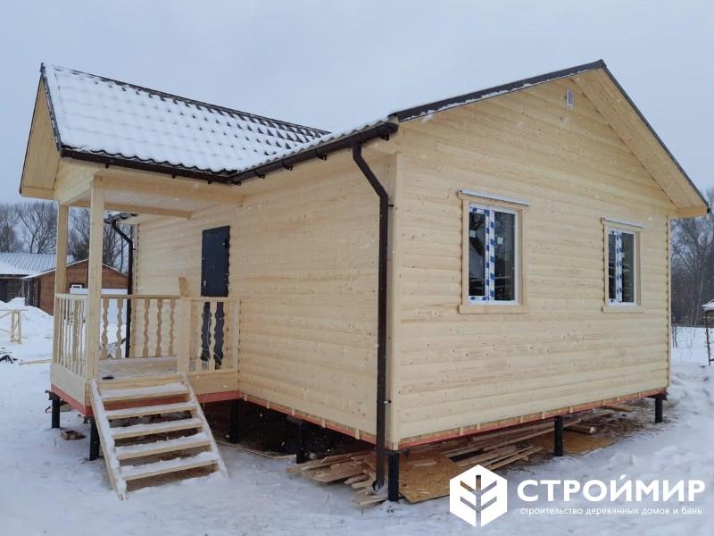 Каркасный дом 6х9 в Тверской области