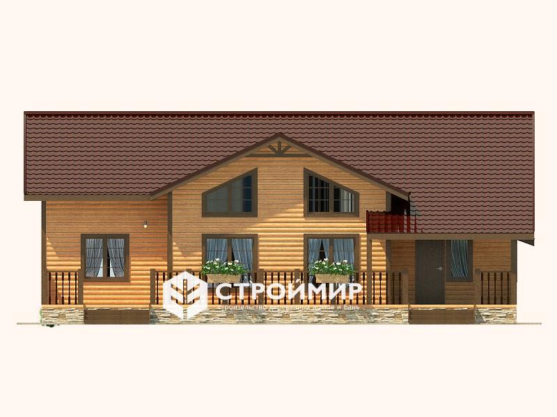 Дом из бруса (Д-119)
