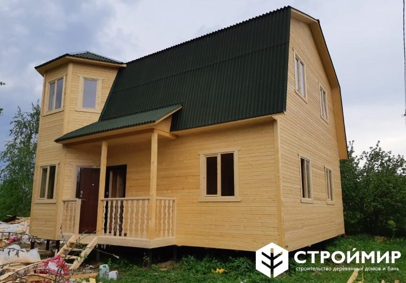 Каркасный дом с утеплением 150 мм
