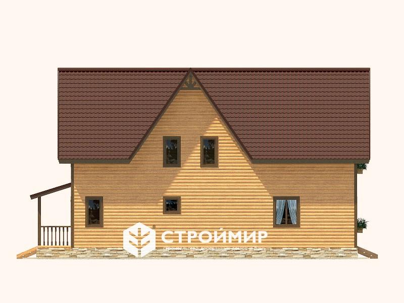 Дом из бруса 9х12 (Д-121)