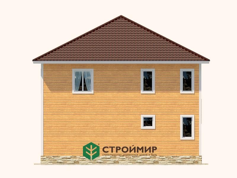 Каркасный дом К-83