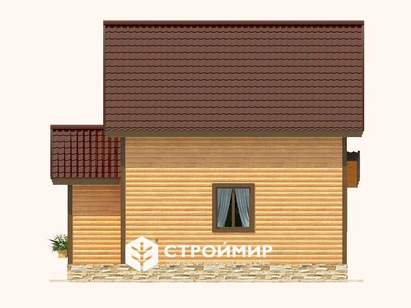 Дом из бруса (Д-125)