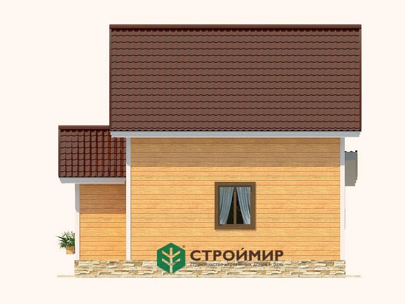Каркасный дом К-86