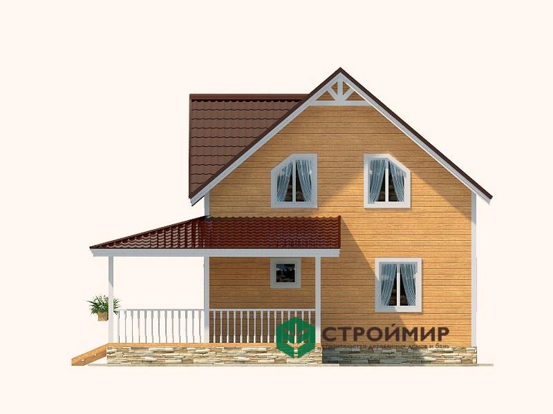 Каркасный дом К-87