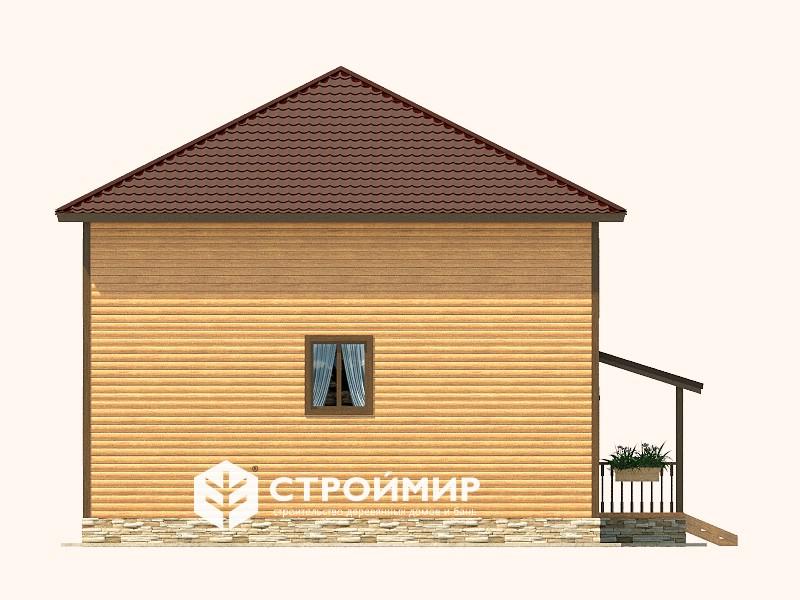 Дом из бруса (Д-122)