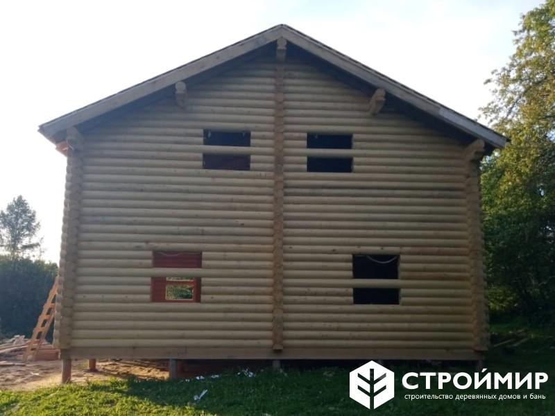 Строительство дома из бревна ДБР-30