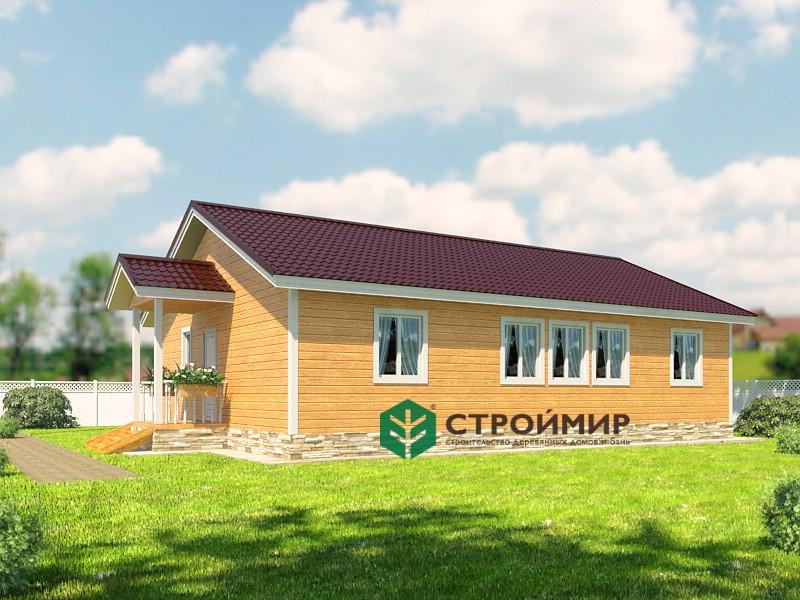 Каркасный дом 8х12 (проект К-88)