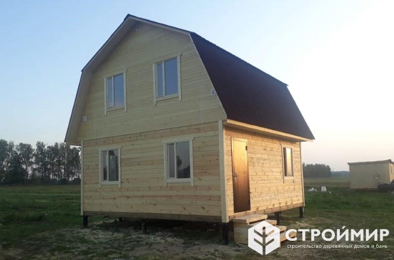 Дом из бруса в Ферзиковском районе