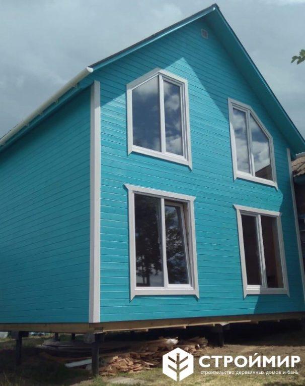 Строительство и покраска каркасного дома