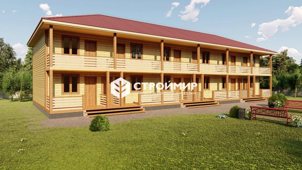 Проект гостиницы 9х24