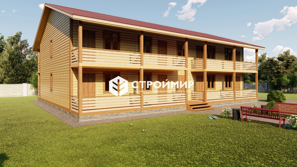 Проект гостиницы 13х17