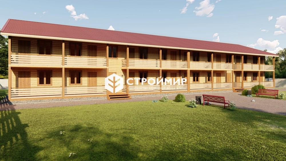 Проект гостиницы 13х34