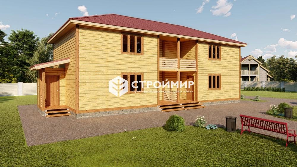 Проект гостиницы 7,5х14