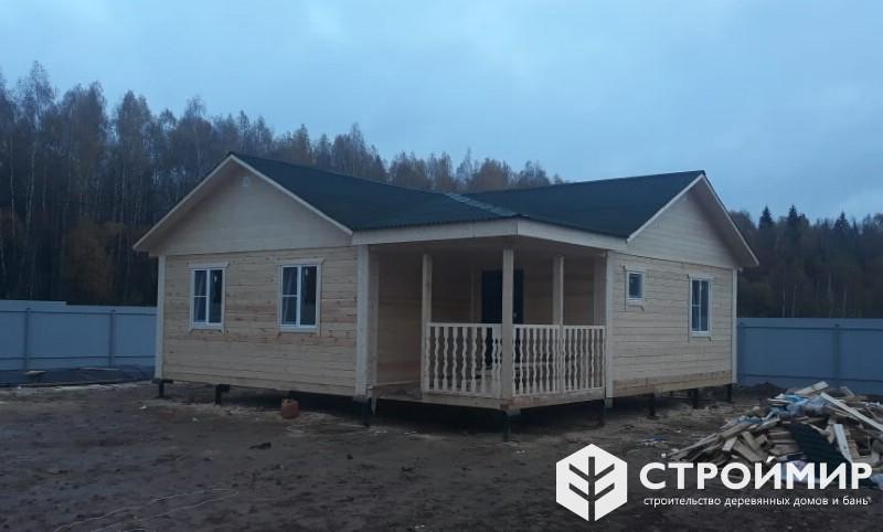 Построили одноэтажный дом 9х9