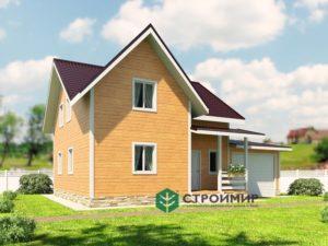 Каркасный дом 9х12 (проект К-97)