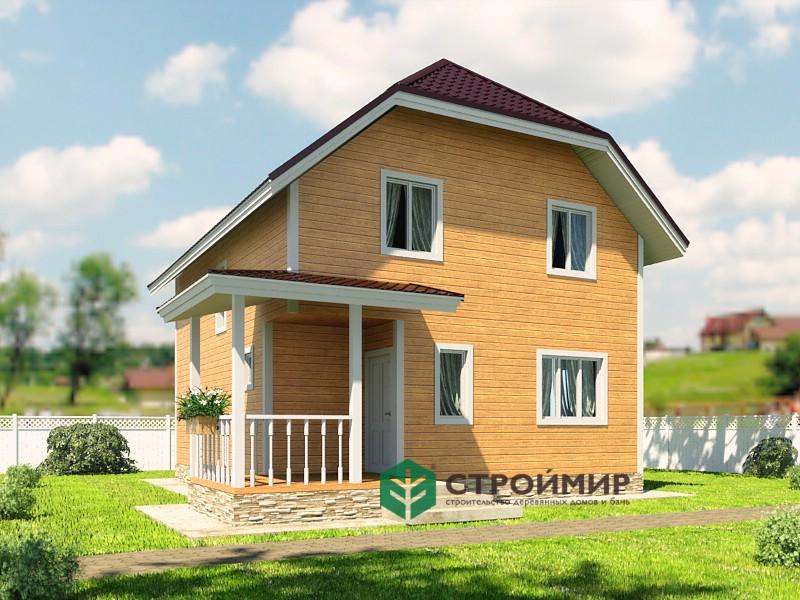 Каркасный дом 7х8 (проект К-98)