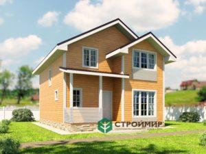 Каркасный дом 7х9 (проект К-99)