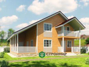 Каркасный дом 9х11 (проект К-103)