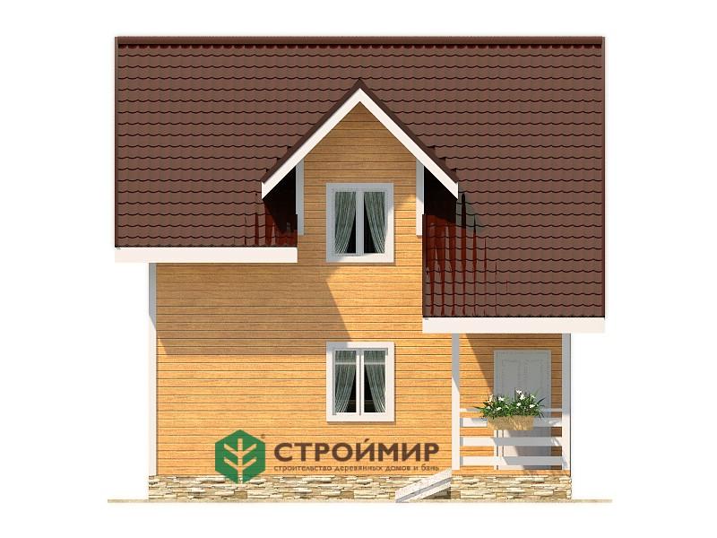 Каркасный дом К-96