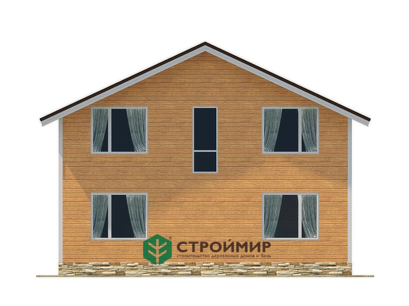 Каркасный дом 9х10 (проект К-101)