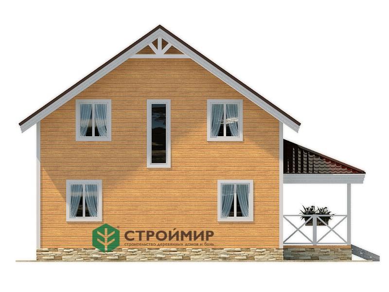 Каркасный дом 8,5х10, проект К-94