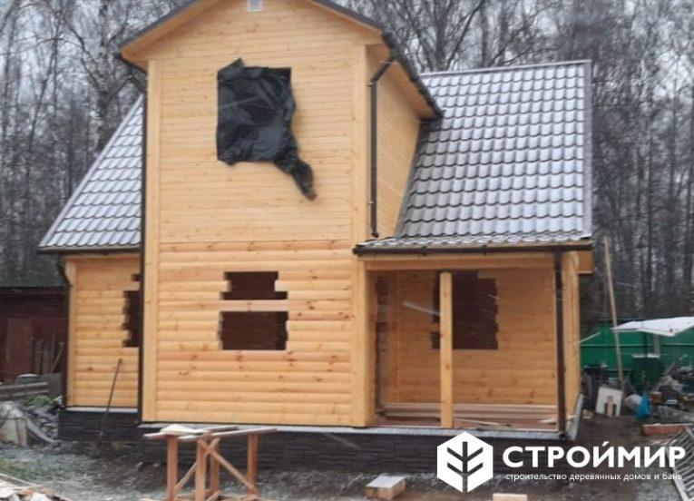 Дом из бруса в Ступинском районе