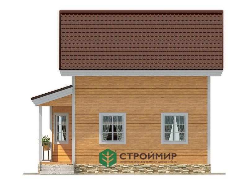 Каркасный дом 6х7, проект К-95