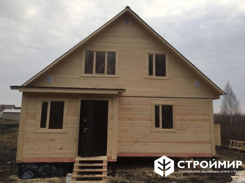Дом из бруса в Тамбовской области