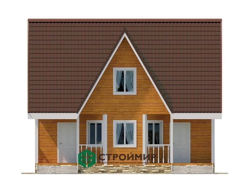 Каркасный дом 7х9, проект К-115