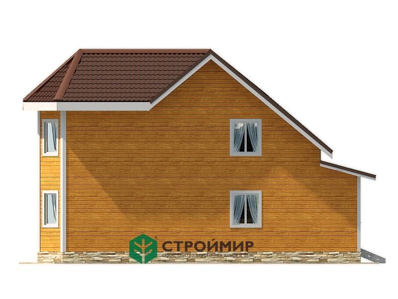 Каркасный дом 9х12, проект К-110