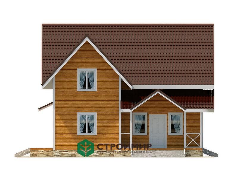 Каркасный дом 9х10, проект К-112