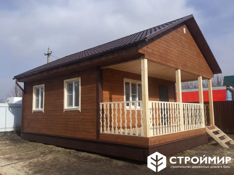 Дачный каркасный дом в Тамбовской обл