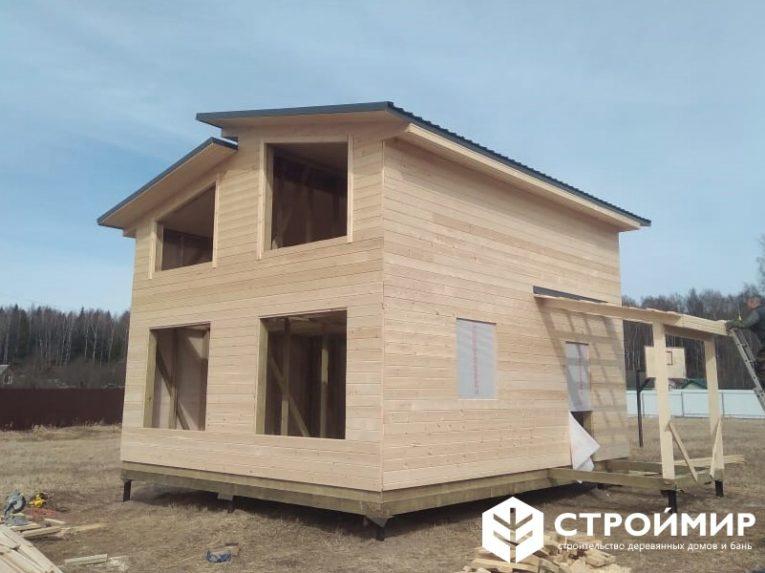 Каркасный дом в Можайском районе