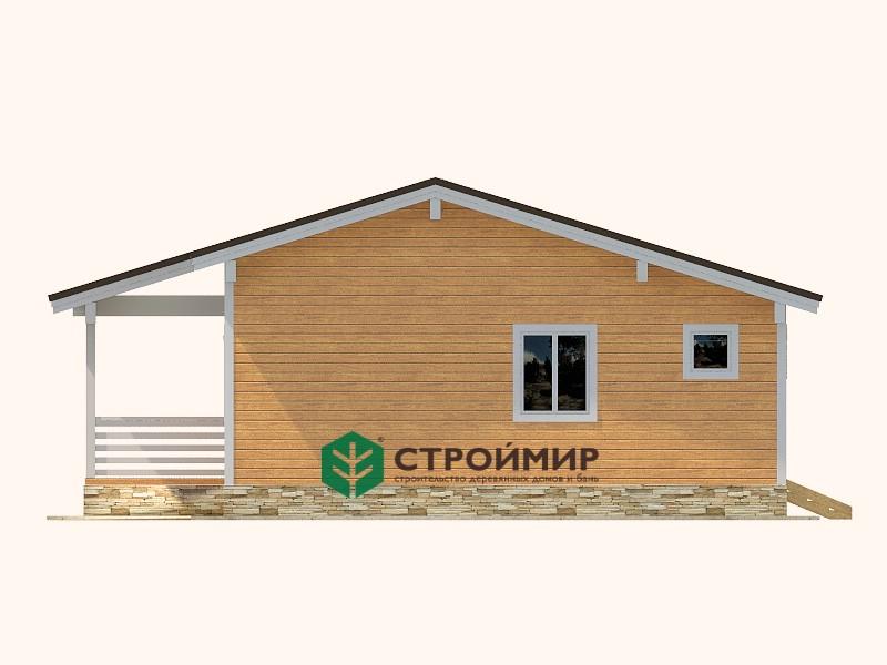 Каркасный дом 8,5х10, проект К-125