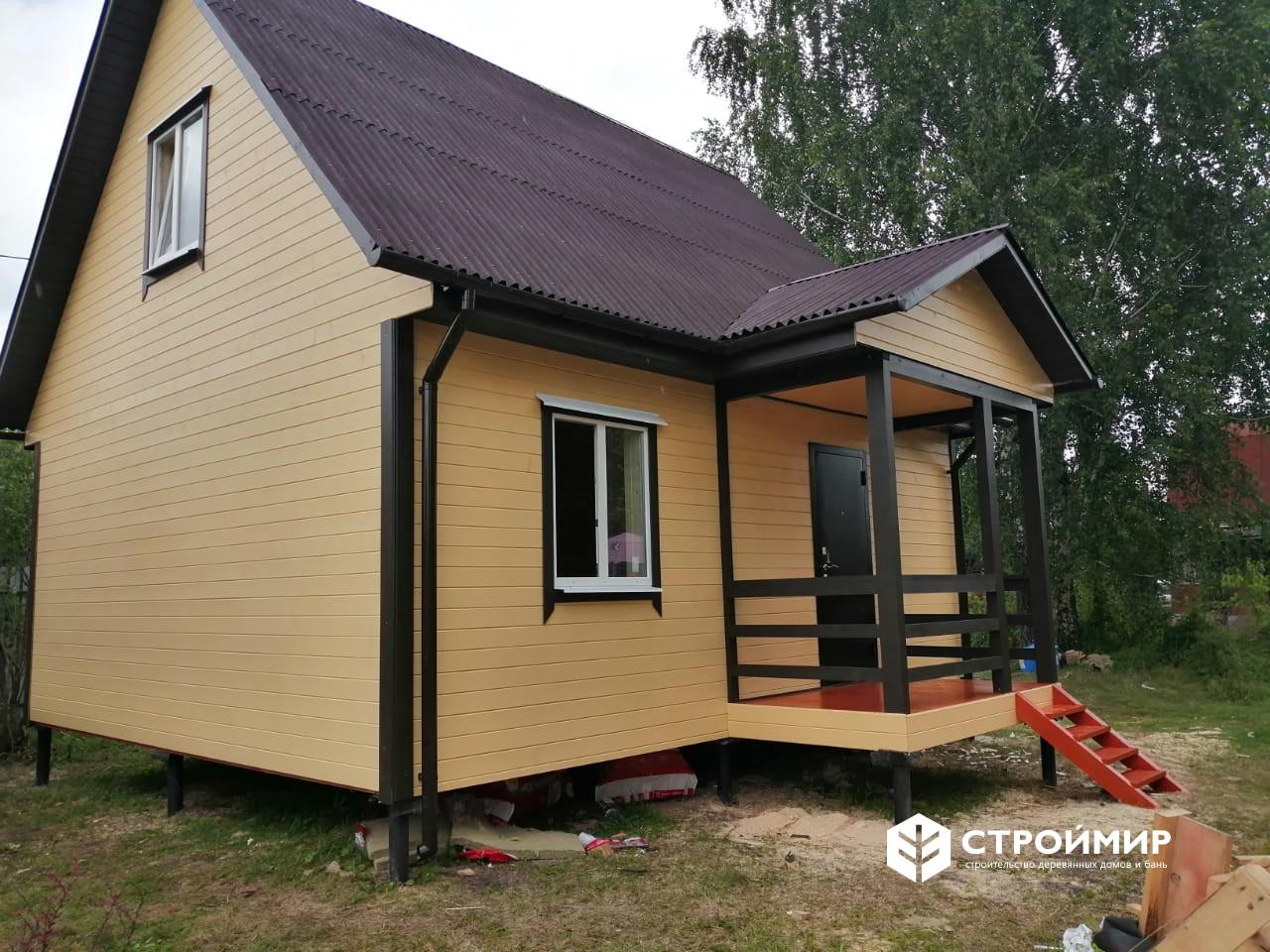 Каркасный дом с утеплением в 200мм