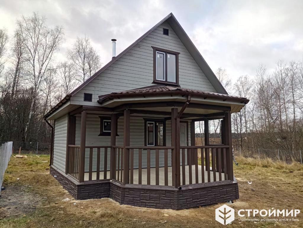 Баня с мансардой в Жуковском